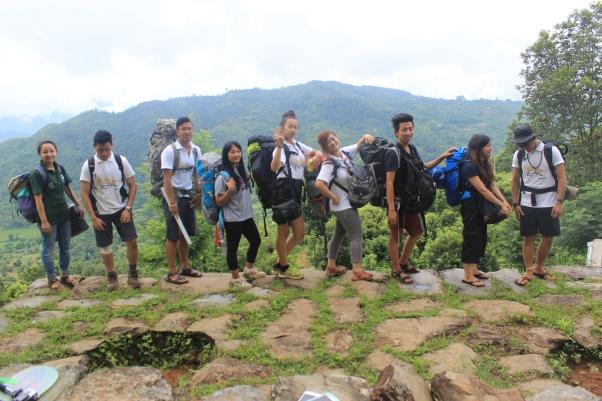 Tracing Nepal Team 2014