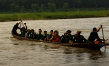 Tracing Nepal Canoe